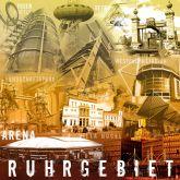"""Fritz Art """"Ruhrgebietscollage braun"""""""