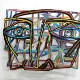 "David Gerstein ""Graffiti Face 1"""