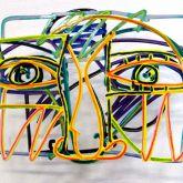 "David Gerstein ""Graffiti Face 2"""