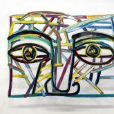 "David Gerstein ""Graffiti Face 3"""