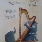 """Otto Waalkes """"Harpo's Theme"""""""