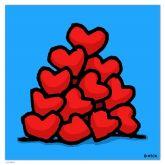 "Ed Heck ""Heart Pile"""