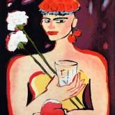 """Elvira Bach """"Ich denke an Chardin"""""""