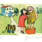 """Janosch """"Ich liebe Sie sprach Frau Luise zu mir ..."""""""