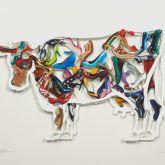 """David Gerstein """"Imelda Cow (Papercut)"""""""