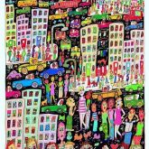 "James Rizzi ""In A Trance of a Colorful Glance by Chance"""