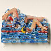 "David Gerstein ""Iron Man – Swimmers (Papercut)"""