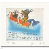 """Janosch """"wir liebten uns auf ganz hoher See"""""""