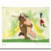 """Janosch """"der Bär, der Bär der wiegt nicht schwer"""""""