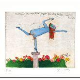 """Janosch """"Denkmal für sehr begabte Tänzerin"""""""