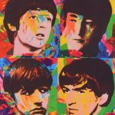 "James Francis Gill ""Enduring Fab Four"""