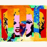 """James Francis Gill """"Marilyn In The Sky"""""""