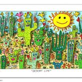 "James Rizzi ""Desert Life"""