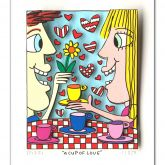 "James Rizzi ""A Cup of Love """
