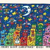 """James Rizzi """"A fairy good Christmas"""""""