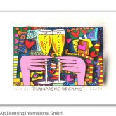 "James Rizzi ""Champagne Dreams"""