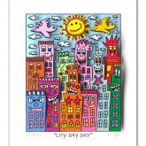 "James Rizzi ""City Day Sky"""