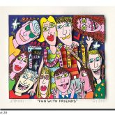 "James Rizzi ""Fun with Friends"""