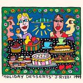 "James Rizzi ""Holiday Desserts"""