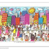 "James Rizzi ""It happens in Harlem"""