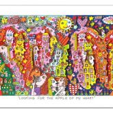 "James Rizzi ""Looking for the Apple oy my heart"""