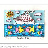 """James Rizzi """"Love at Sea"""""""