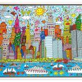 "James Rizzi ""My New York City (Leinwand)"""