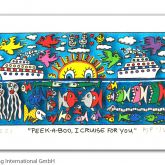 "James Rizzi ""Peek-a-boo, I cruise for you"""