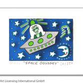 """James Rizzi """"Space Odyssey"""""""