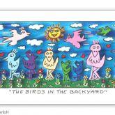 "James Rizzi ""The Birds in the Backyard"""