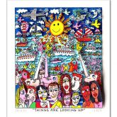 """James Rizzi """"Things are looking up"""""""