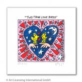 "James Rizzi ""Two true Love Birds"""