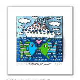 "James Rizzi ""Waves of Love"""