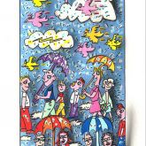 "James Rizzi ""When it rains it pours"""