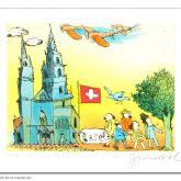 """Janosch """"Basel und sein Münster"""""""