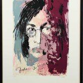 """Armin Mueller-Stahl """"John Lennon – gerahmt"""""""