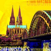 "Fritz Art ""Köln Kölner Dom Gelb"""