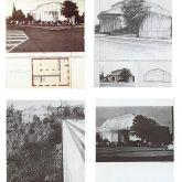 "Christo ""Kunsthalle Bern (Mappe 4 Blatt)"""
