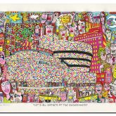 "James Rizzi ""Let's All Gather at the Guggenheim"""