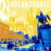 "Fritz Art ""München Odeonsplatz"""
