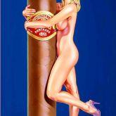 """Mel Ramos """"Hav-a-Havana # 11"""""""