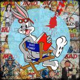 "Elvira Bach ""BB Rabbit"""
