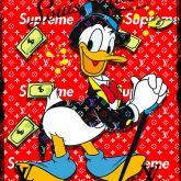"""Micha Baker """"Red LV Donald"""""""
