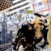 "Micha Baker ""Wall Street Bull"""