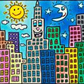 "James Rizzi ""My Candy-Colored City Of Love"""