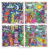 "James Rizzi ""N.Y.C. Sings And Swings"""