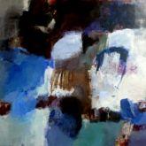 """Barbara Giesbert """"O.T. - Blau"""""""
