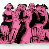 "David Gerstein ""Bar Series - On The Bar (pink)"""