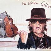 "Otto Waalkes ""Sie spielen Cellooo - Leinwand"""