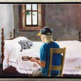 "Otto Waalkes ""Otto's Lullaby - Leinwand im Rahmen"""